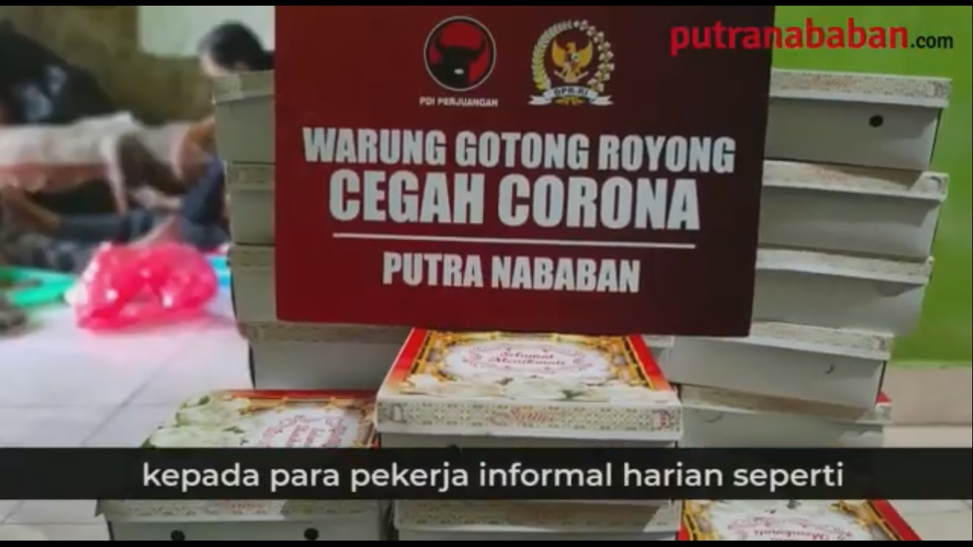 Putra Nababan Gerakkan Warung Gotong Royong di Jakarta Timur