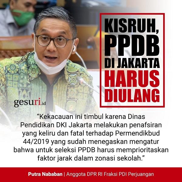 PPDB di DKI Jakarta Harus Diulang