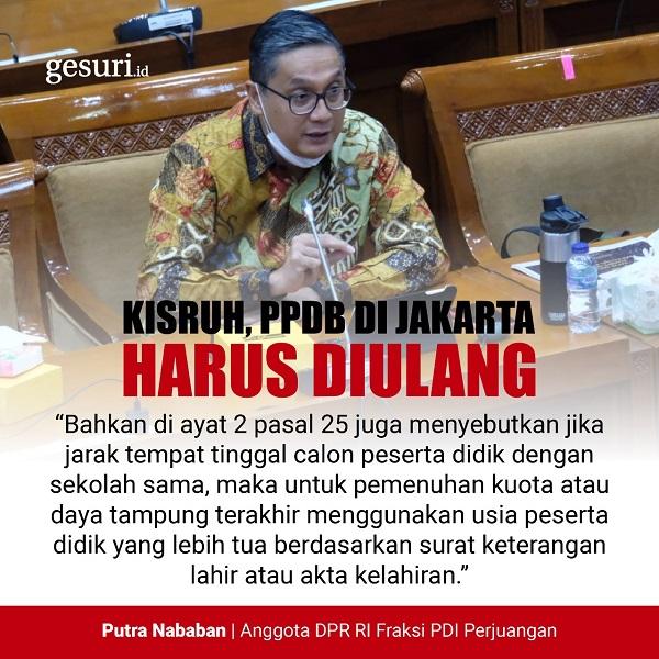 Kisruh, PPDB di DKI Jakarta Harus Diulang