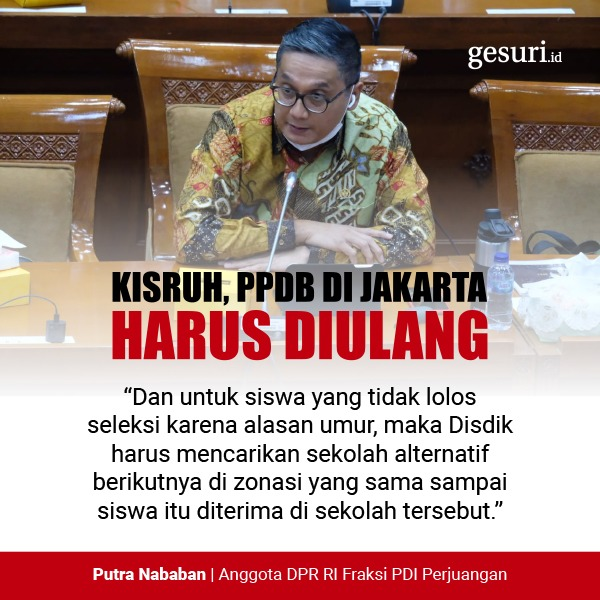 Kisruh, PPDB DKI Jakarta Harus Diulang