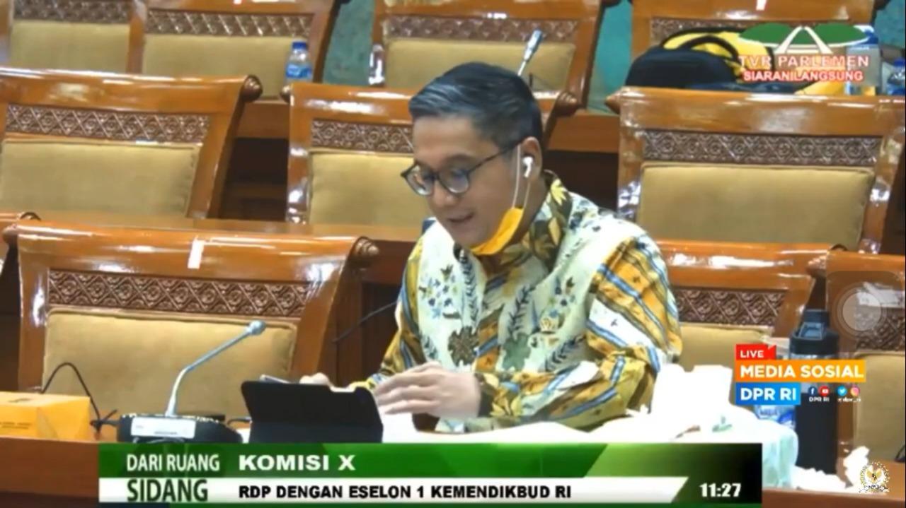 RDP Komisi X DPR RI dengan Eselon 1 Kemendikbud RI 9 Juli 2020