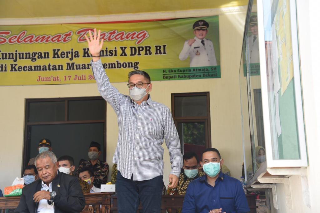 Kunker Reses Komisi X DPR RI ke Kabupaten Bekasi