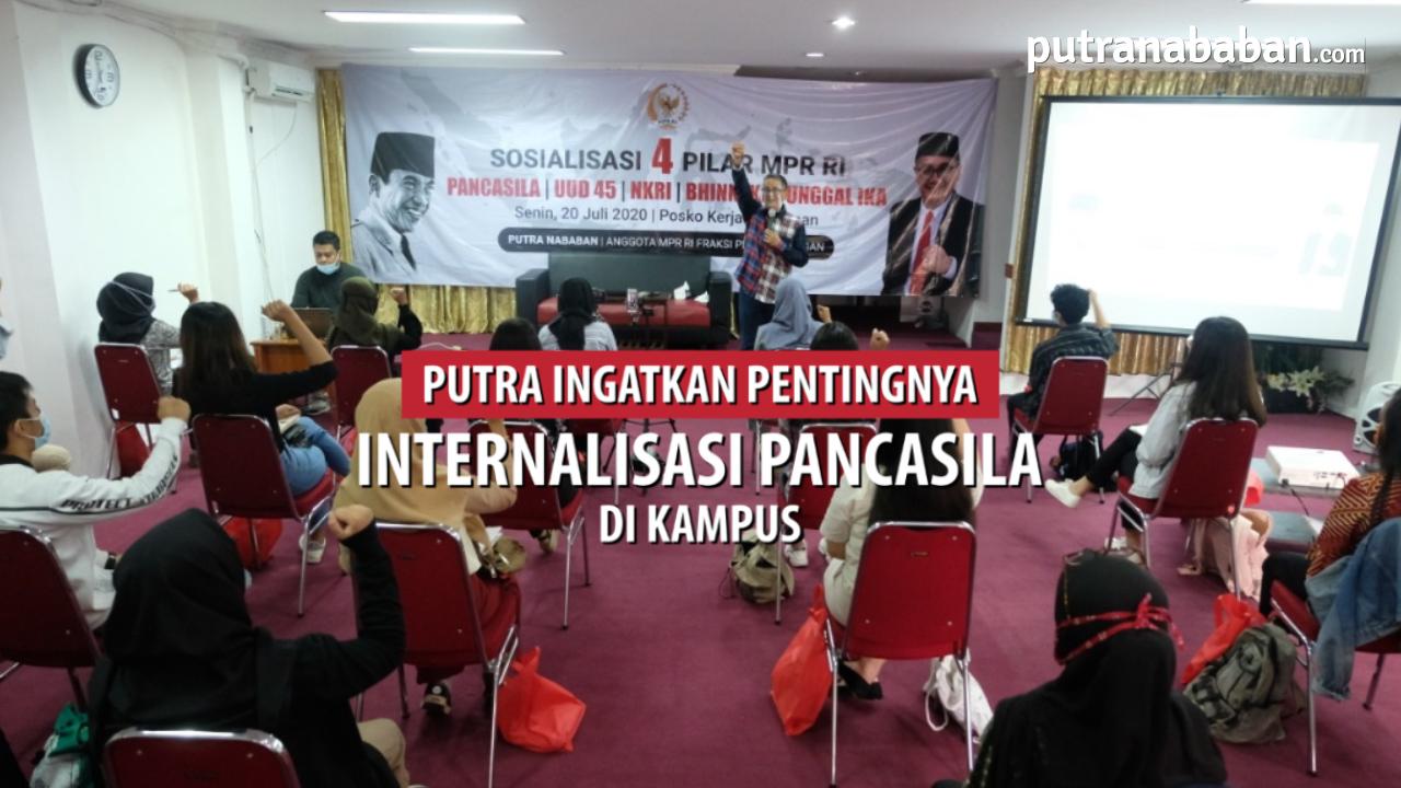 Sosialisasi 4 Pilar MPR RI di Rumah Aspirasi, 20 Juli 2020