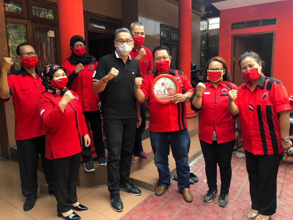 Kunjungan Masa Reses ke Kantor PAC PDI Perjuangan Ciracas