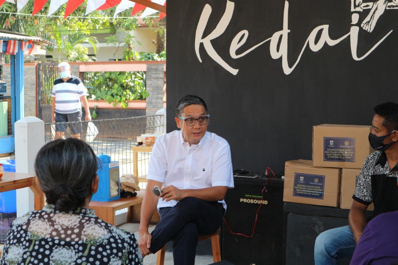 Putra Nababan Semangati Komunitas Seni Jakarta Timur