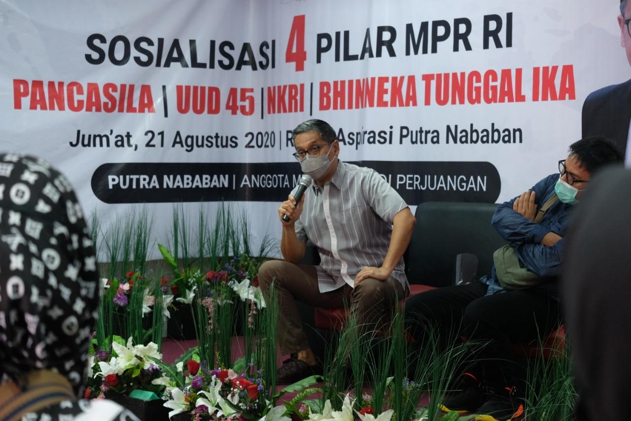 Sosialisasi 4 Pilar MPR RI di Rumah Aspirasi, Agustus 2020