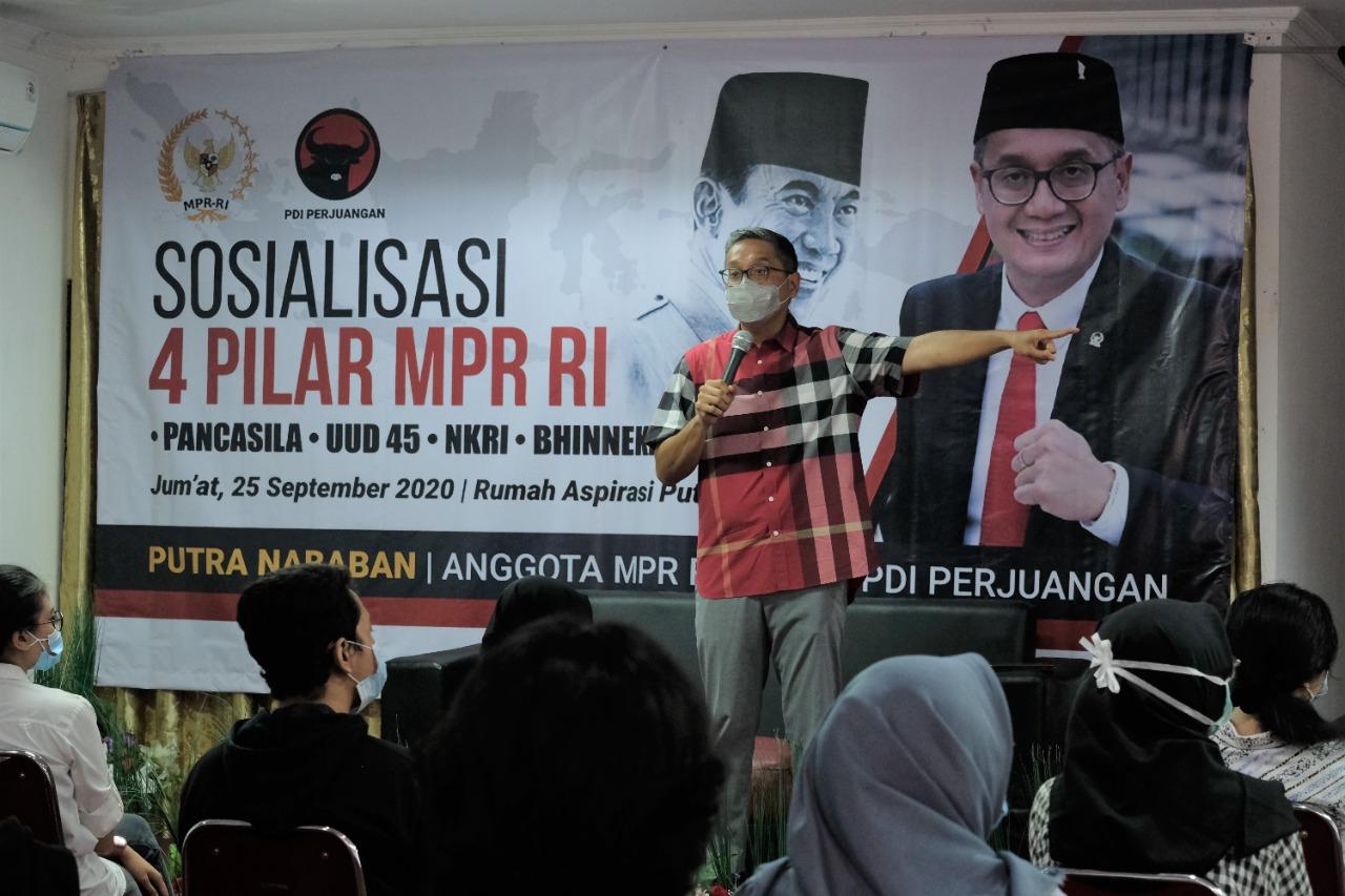 Sosialisasi 4 Pilar MPR RI di Rumah Aspirasi, 25 September 2020