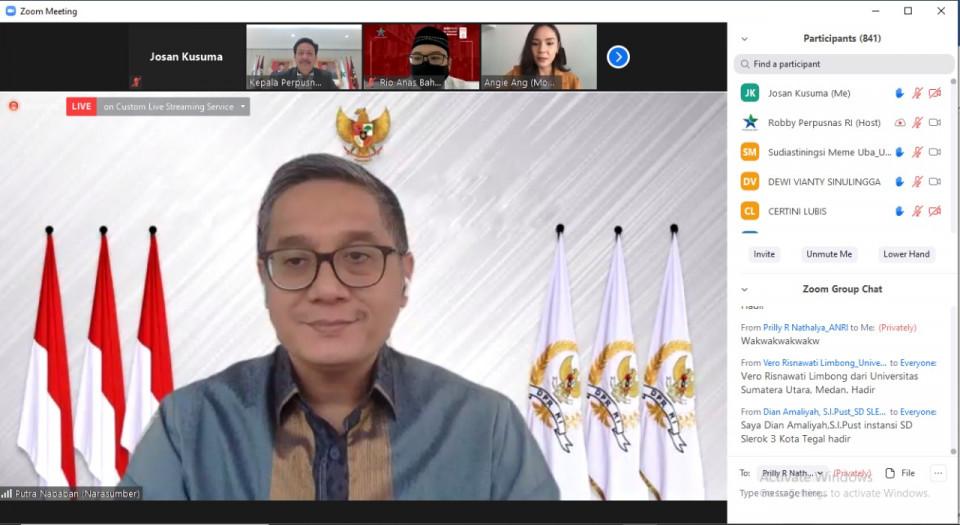 Komisi X DPR RI Dukung Perpusnas Terus Revitalisasi Perpusda