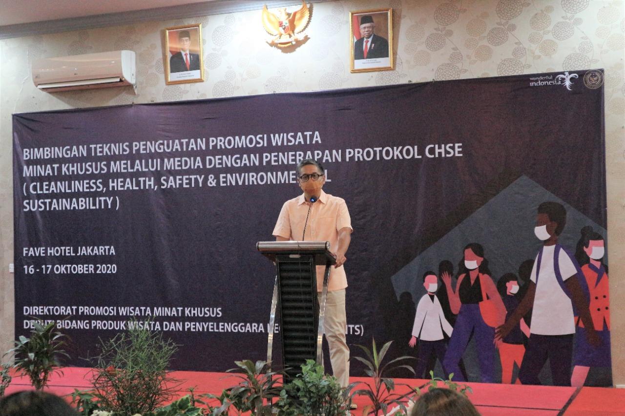 Bimtek Promosi Wisata Minat Khusus Jakarta