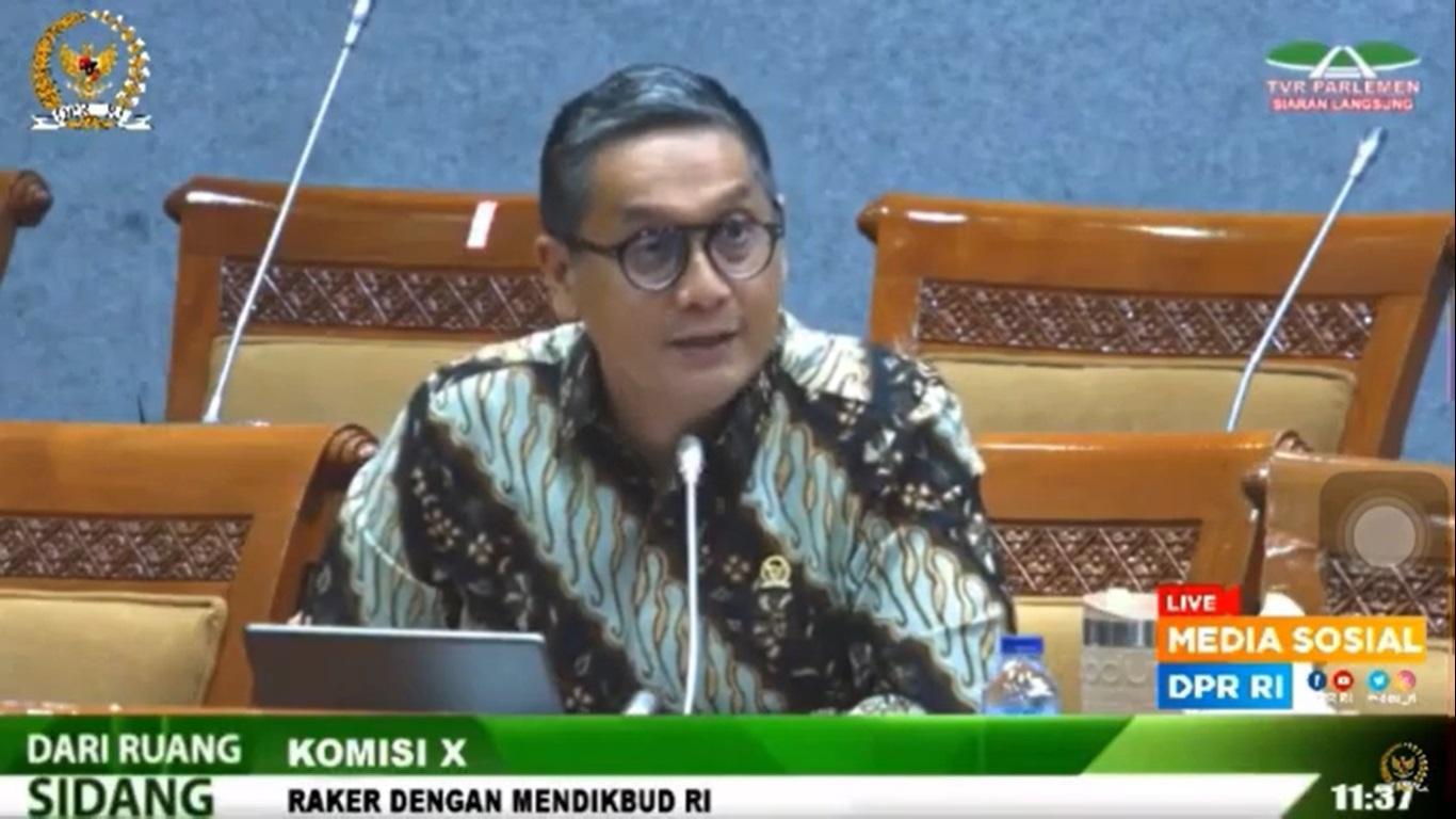 Raker Komisi X DPR RI dengan Mendikbud RI, November 2020
