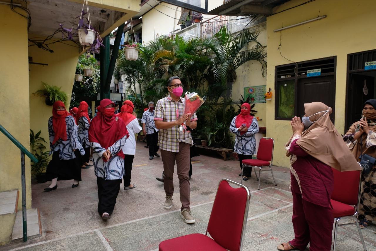 Kunjungan ke SDS Mustika Pulo Gadung