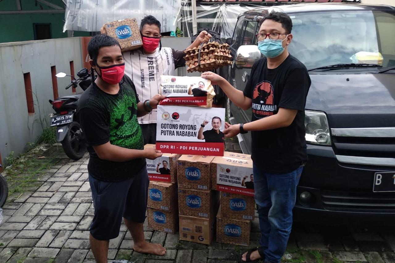 Bantuan Tahap I untuk Korban Banjir Jakarta Timur