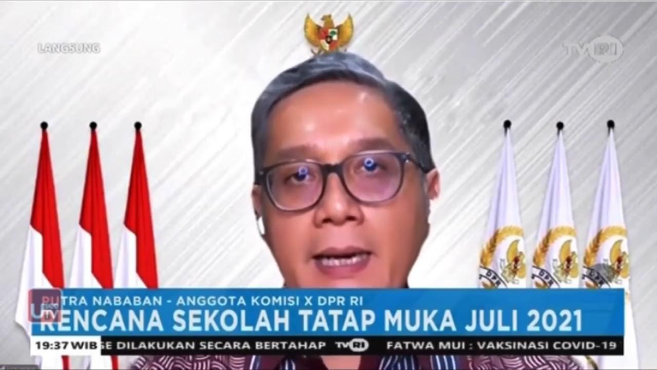 "Indonesia Bicara ""Rencana Sekolah Tatap Muka Juli 2021"""