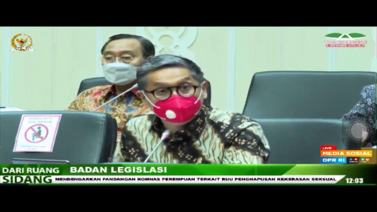 RDPU Baleg DPR RI tentang RUU PKS, 29 Maret 2021