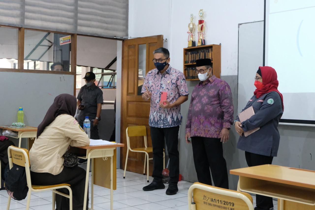 Kunjungan ke SMA Diponegoro 1 Jakarta Timur