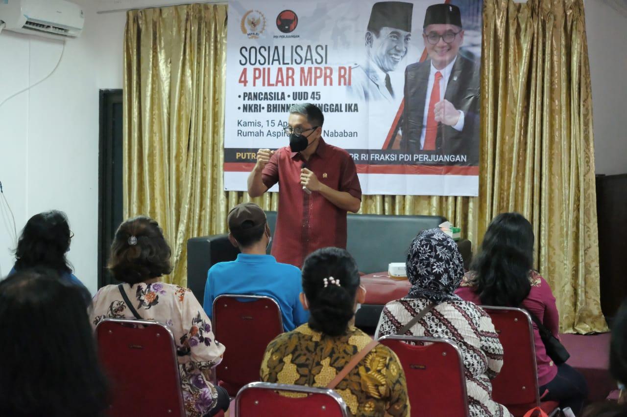 Sosialisasi 4 Pilar MPR RI di Rumah Aspirasi, 15 April 2021