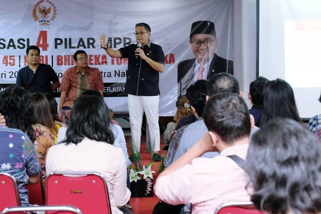 Sosialisasi 4 Pilar bersama Generasi Muda Jaktim