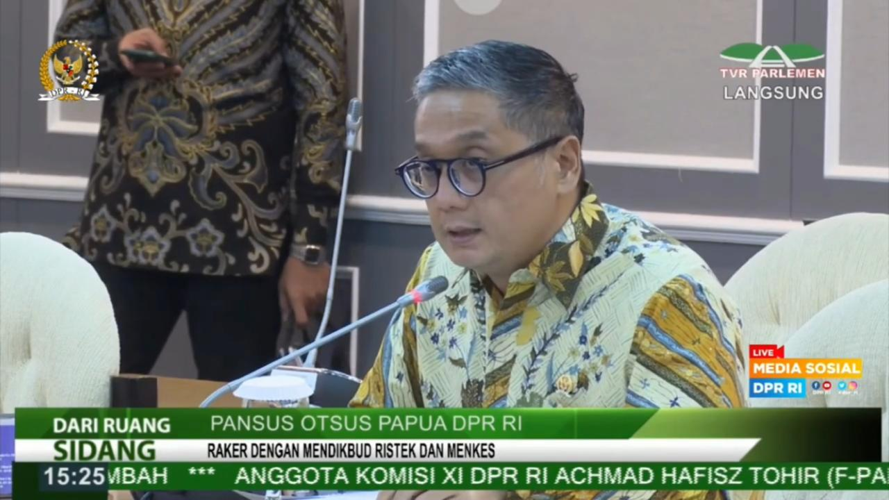 Rapat Kerja Pansus Otsus Papua DPR RI, 7 Juni 2021