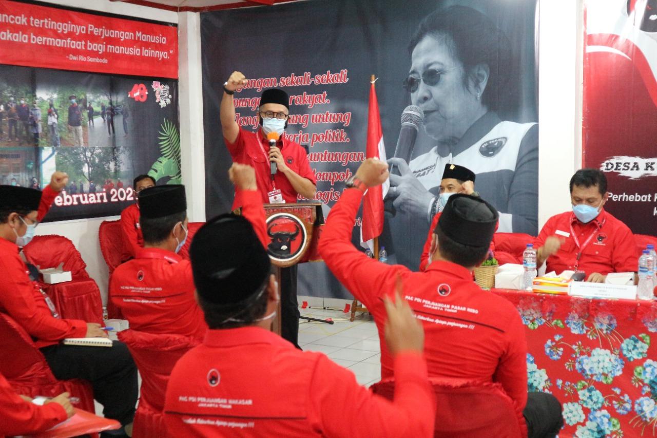 Rakercab I DPC PDI Perjuangan Jakarta Timur