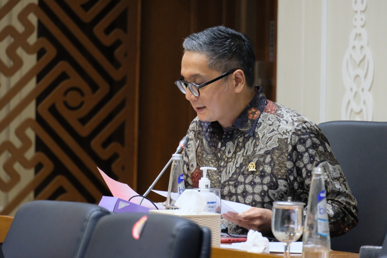 Rapat Baleg DPR RI, 14 Juni 2021