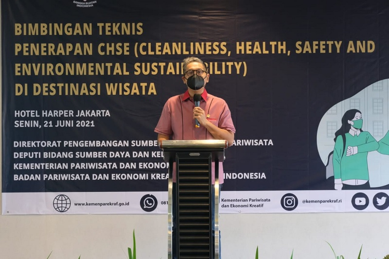 Pariwisata Bangkit, Putra: Adaptasi New Normal Berbasis CHSE
