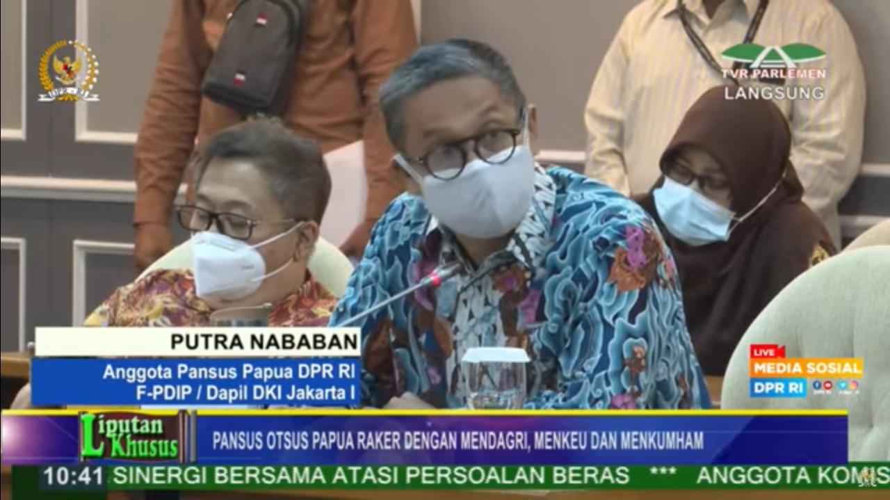 Revisi UU Otsus Papua, Putra Ingatkan Dua Hal!