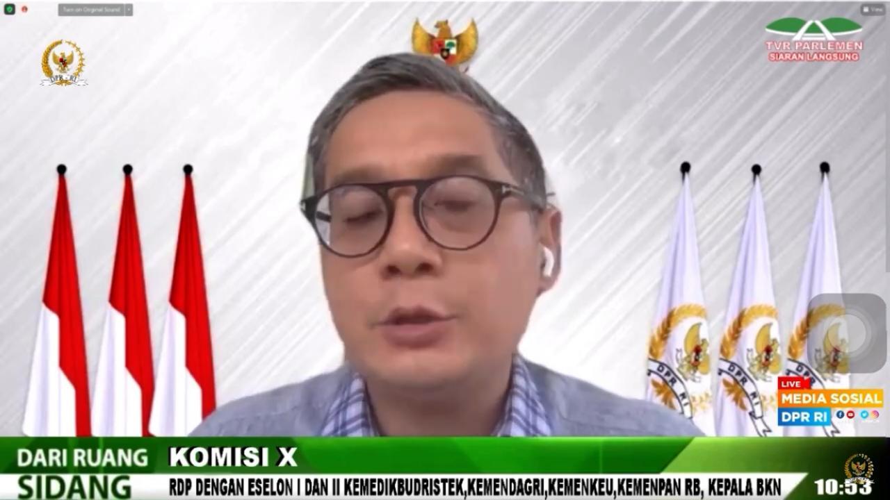 RDP dengan Eselon I & II Berbagai Kementerian, 23 Juni 2021