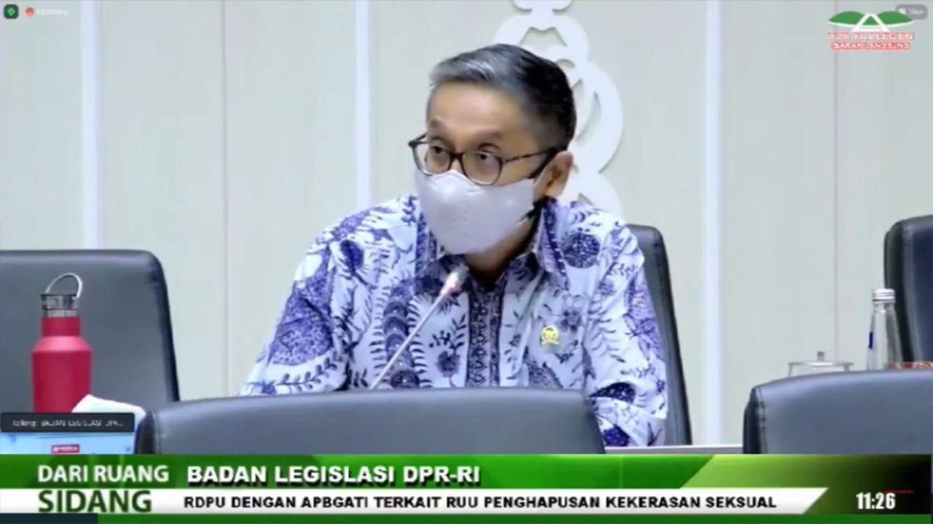 RDPU dengan APBGATI terkait RUU PKS, 25 Agustus 2021