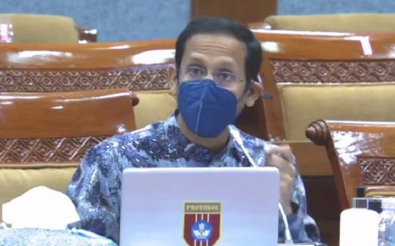 PPKM Level 3, Nadiem dan Putra Cek PTM Terbatas di Jakarta