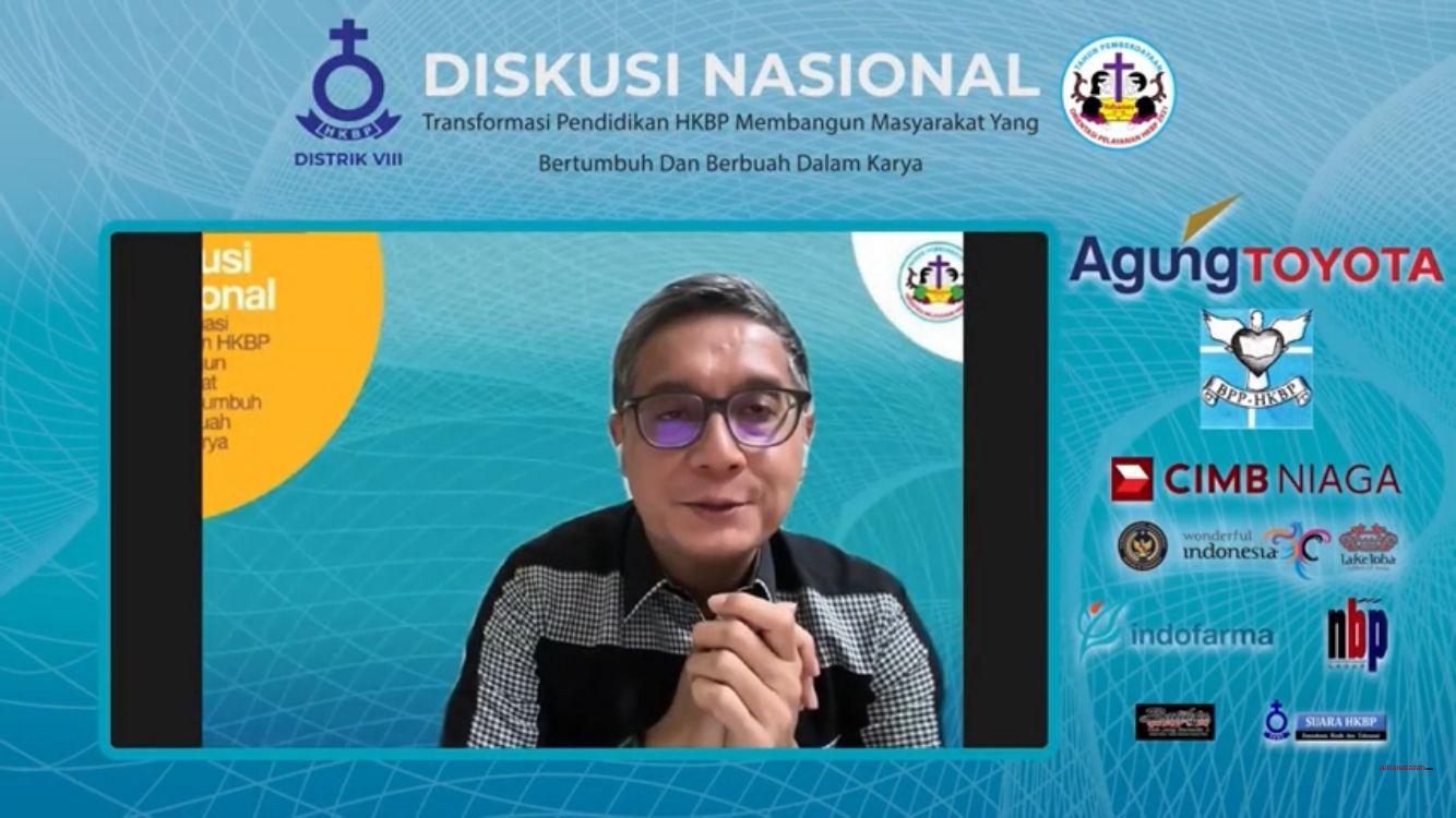 Diskusi Nasional - Transformasi Pendidikan HKBP